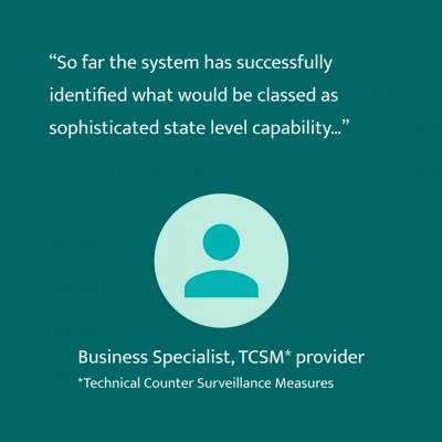 TCSM provider